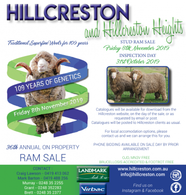 Hillcreston Heights, Bigga, On-property sale
